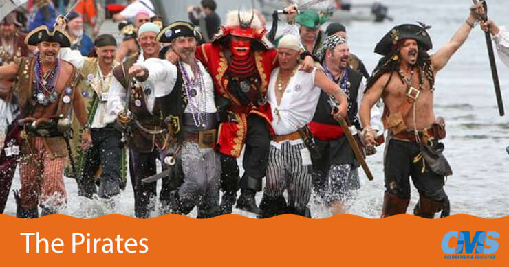 Seattle Seafair Pirates Event
